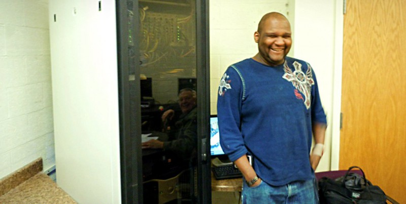 Currently Living At Guiding Light Mission, Napolean Frazier Hopes To Find  Work As A Computer