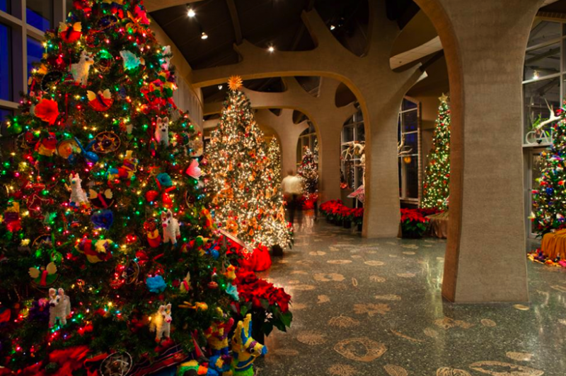 meijer gardens exhibits christmas trees decorated in multicultural ornamentation for the 19th year in a row