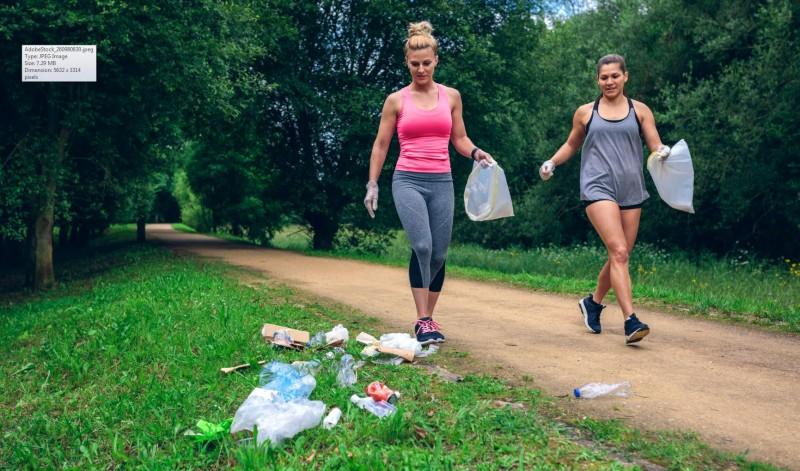 Comprenew Organizes Litter Clean Up Run Walk At Garfield Park The Rapidian
