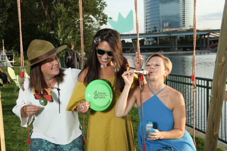 Guests at Green Gala with Mayor Rosalynn Bliss
