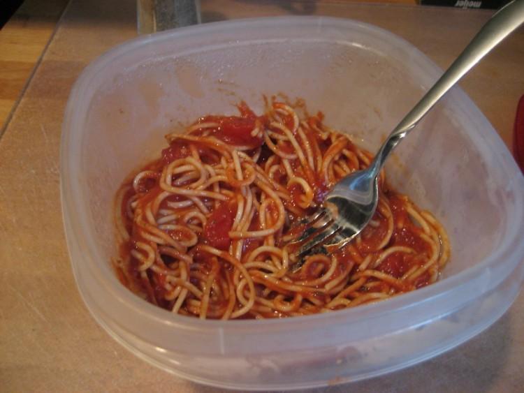 Poor man's spaghetti