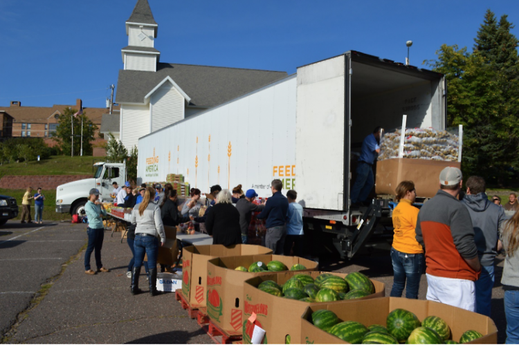 The Mow Down Hunger campaign will support food distribution to those in need throughout the state.