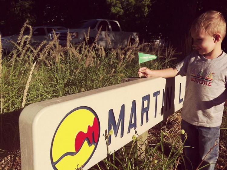 My son knows that city parks matter.