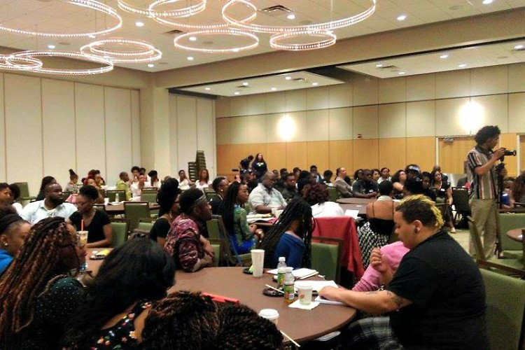 Black Live Matter's international retreat at Wayne State University