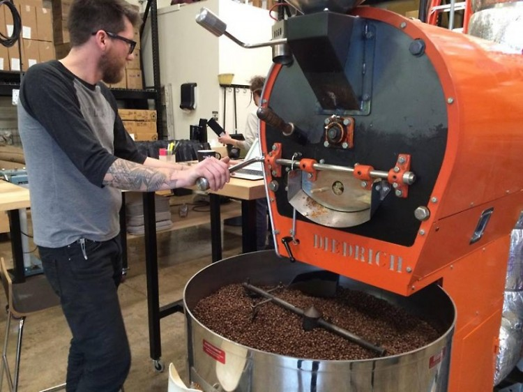There are beans being roasted five days of the week at Madcap Coffee's roastery.