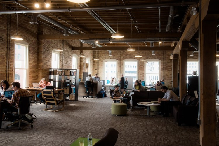 The Factory provides coworking space for freelancers and entrepreneurs in Grand Rapids.