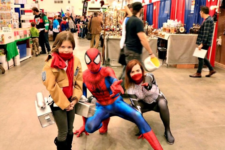 GR Comic Con attendees