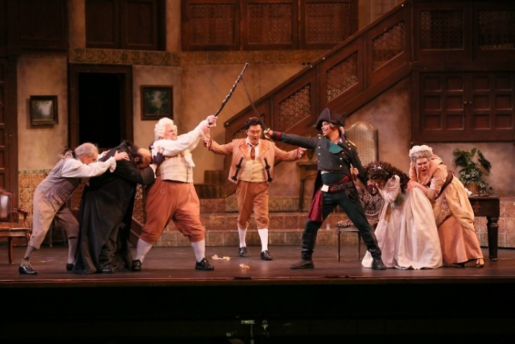 """Opera Grand Rapids' production of """"The Barber of Seville,"""""""