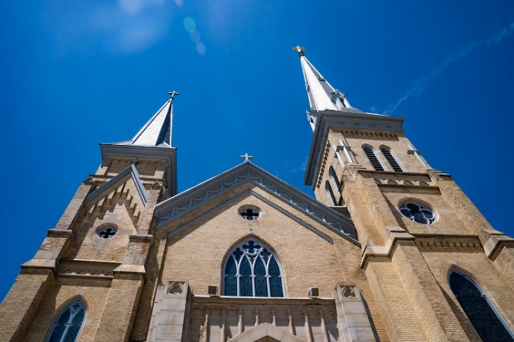 The Diocese of Grand Rapids announced the cancellation of all Masses, including on Easter Sunday, through Monday, April 13.