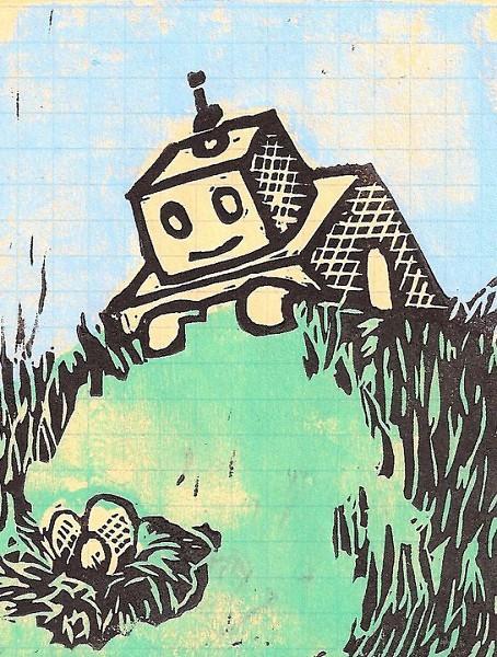 Society member Sara Bakker's illustration for the front cover