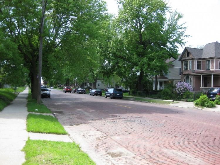Eastown neighborhood in Grand Rapids.