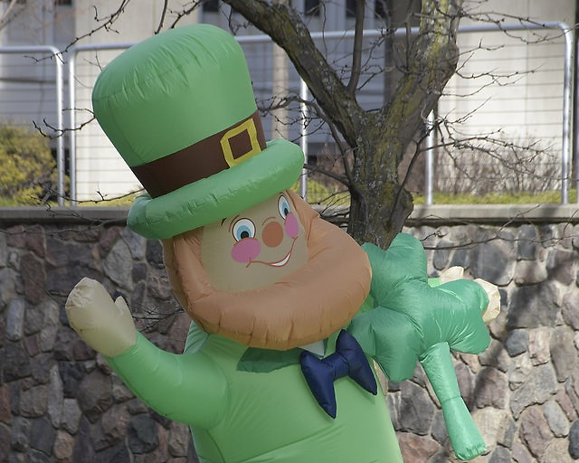 The St. Patrick's Day Parade took place on Saturday, March 17, 2018.