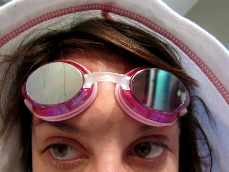 Self Portrait with Goggles