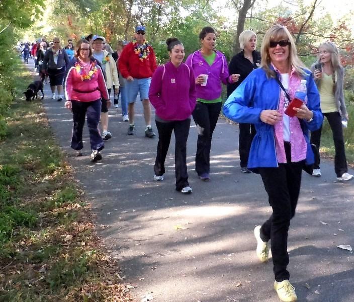 Last year's hike drew 250 from around West Michigan.