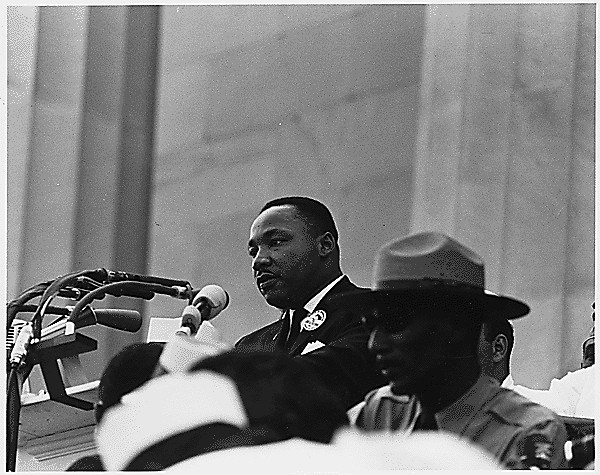 Civil Rights March on Washington, D.C. [Dr. Martin Luther King, Jr. speaking.], 08/28/1963.