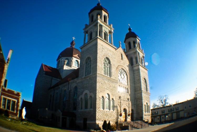 Facade Exterior Basilica of St. Adalbert