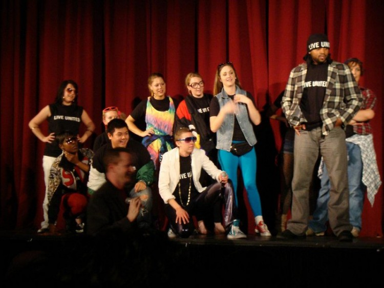 Nonprofiteers participate in last year's YNPN GR Rhyme Rumble