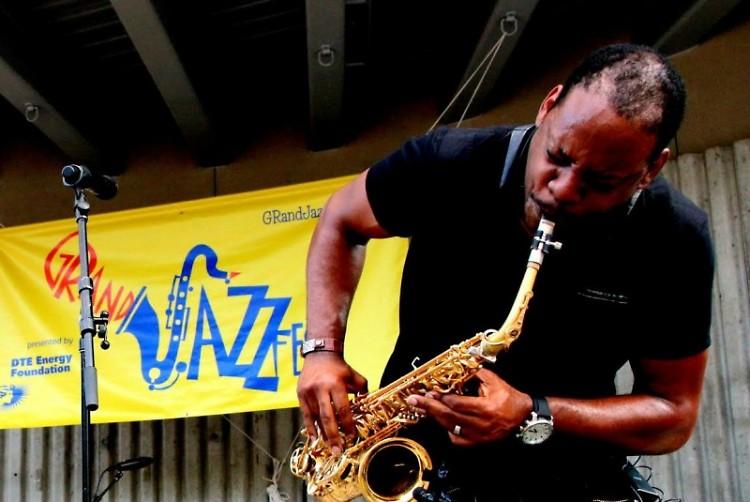 Saxophonist, Jackiem Joyner