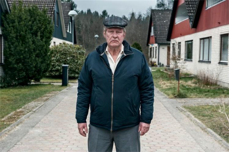 Rolf Lassgard as the titular Ove