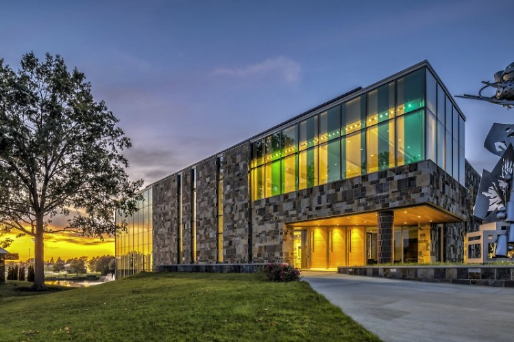 2020 AIAGR Sustainability Design Award - DeWitt Center for Science and Technology by Progressive AE