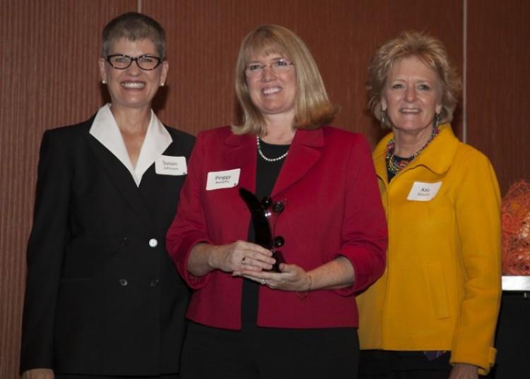 Susan Johnson, Peggy Murphy, Kay Staszel