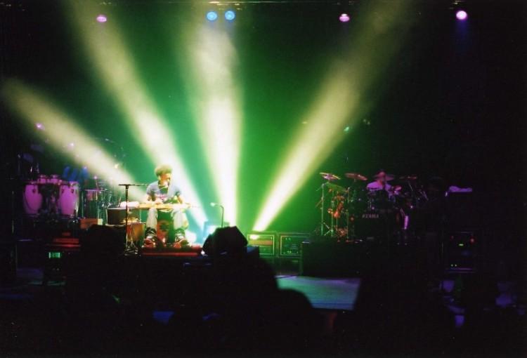 Ben Harper performs at Calvin College, 2000