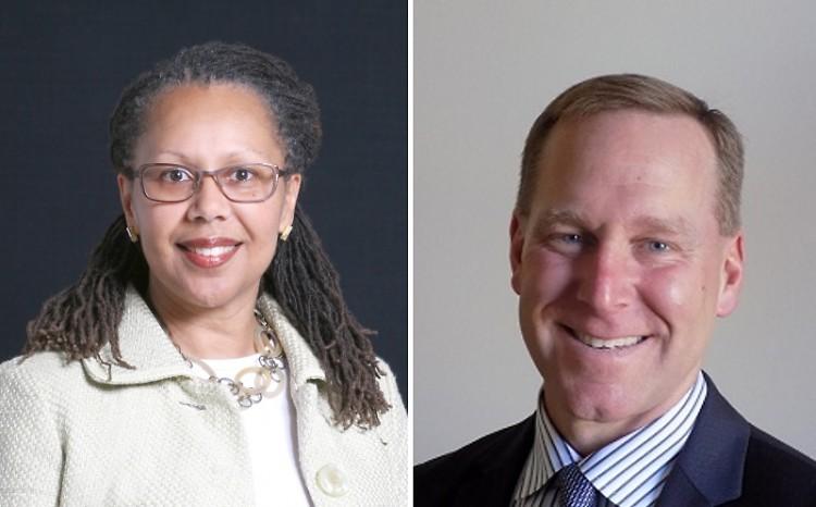 Kent County Prosecutor candidates Alida Bryant (Democrat) and Chris Becker (Republican)