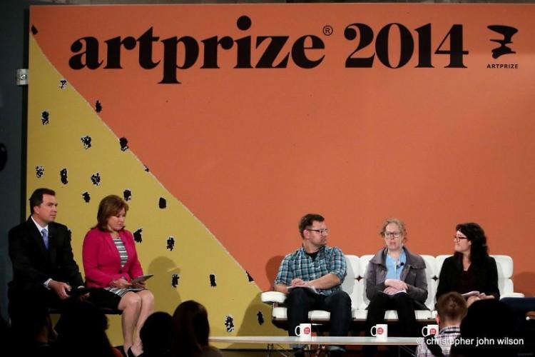 Panelists (from left) Scott Stulen, Paddy Johnson and Miranda Lash