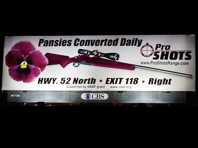 It's not that CBS refuses to run advertisements referencing LGBT Americans: they recently ran this billboard in North Carolina.