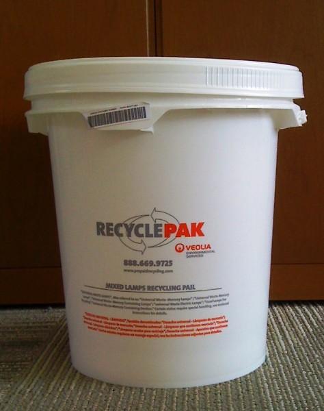 CFL Recycle Bucket