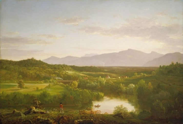 Thomas Cole River in the Catskills, 1843 Oil on canvas Museum of Fine Arts, Boston. Gift of Martha C. Karolik for the M. and M.
