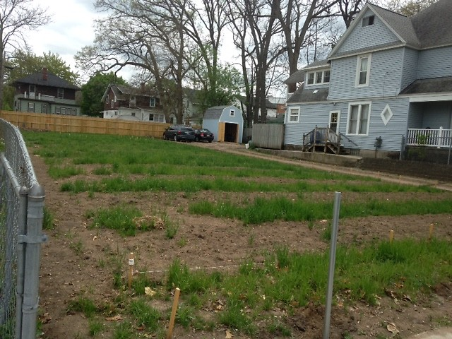 Site of the new community garden in Garfield Park