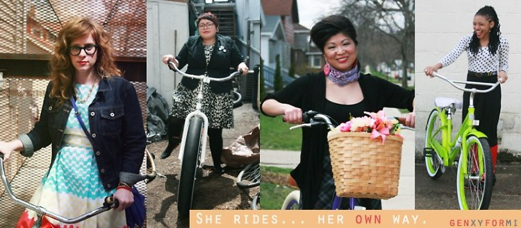 She Rides Her Own Way riders