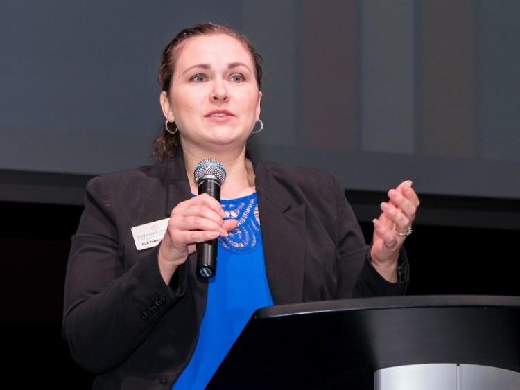 Dr. Jodi Peterson of Dorothy A. Johnson Center at GVSU