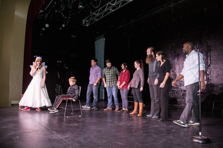 The combination of young authors and improv actors was a hit last year and is sure to be again