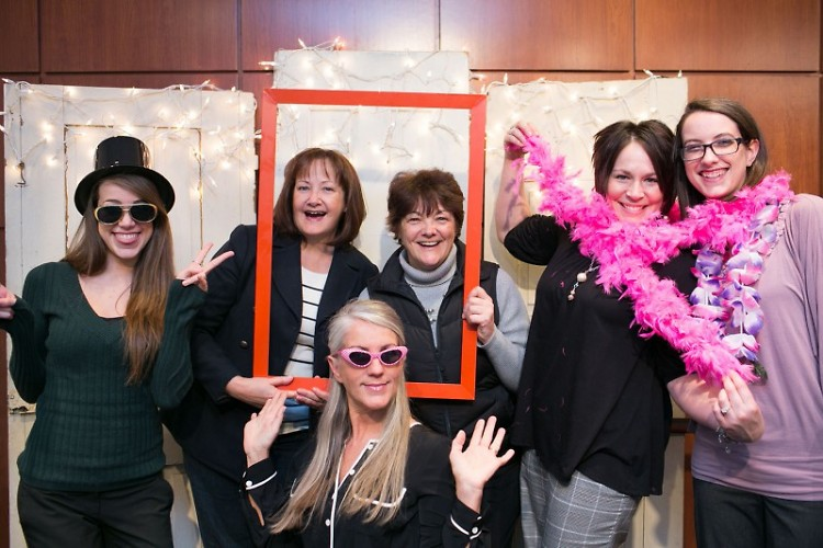Local women strike a pose at last year's Open Hearts Open Doors event.