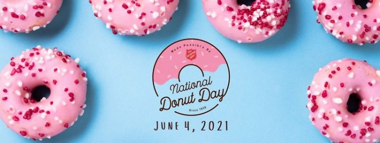 The annual Salvation Army Donut Day is on Friday!