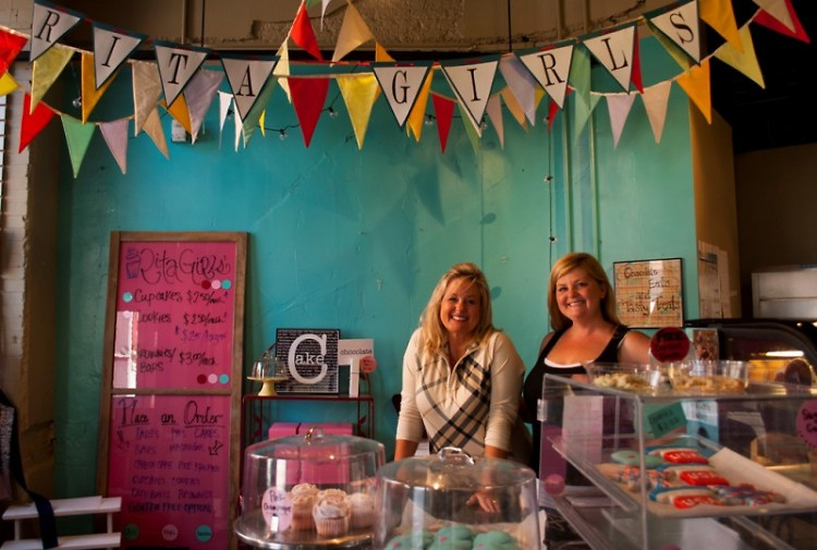 Micki Ackerman and Maria Tornga are the founders of RitaGirls' Boutique Bakery
