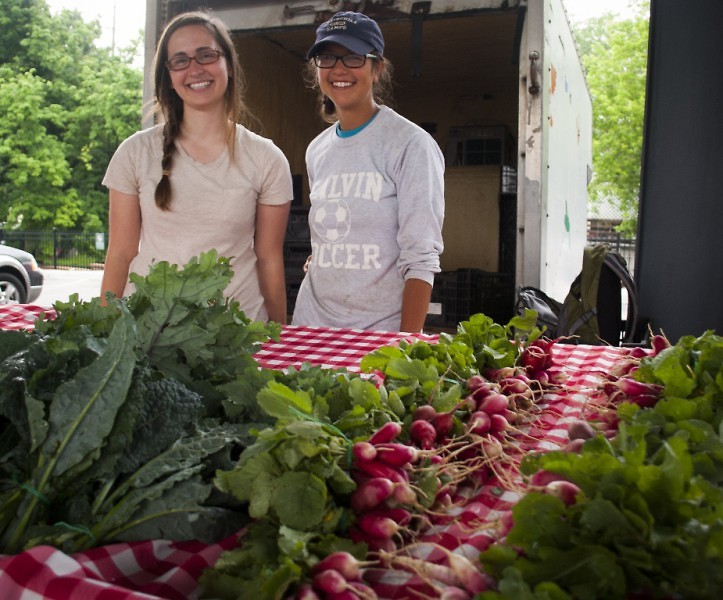 Green Wagon Farm sell their produce at the Market weekly.