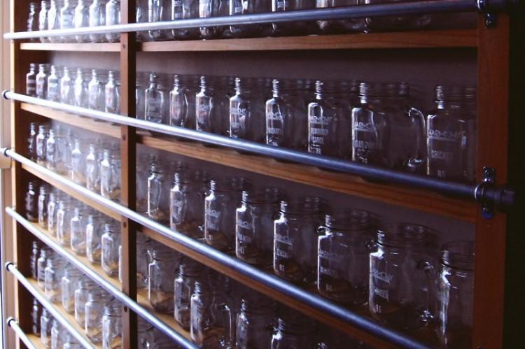 Mugs at Harmony Brewing Company