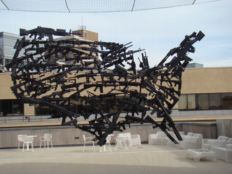"""Gun Country"" by Michael Murphy at UICA"