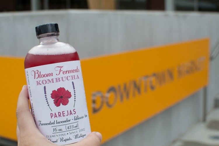 The newest flavor of kombucha added to Bloom's repertoire.