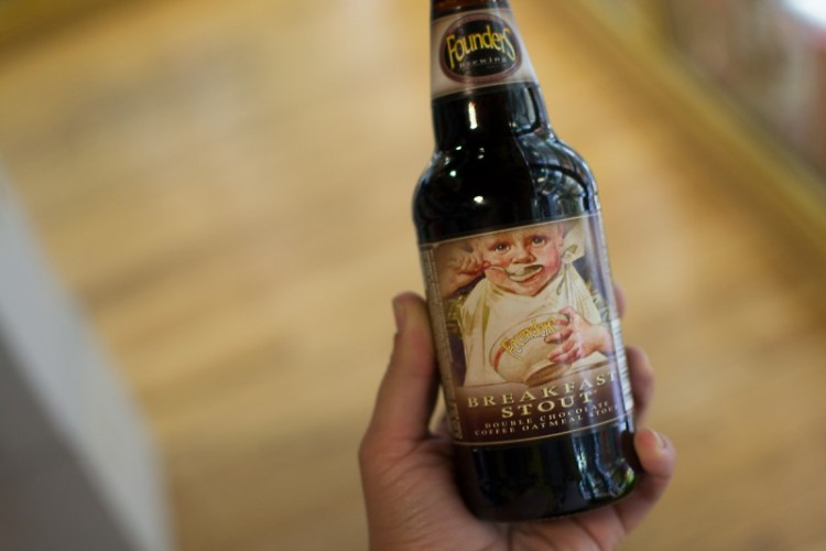 The season of Breakfast Stout has arrived in stores.