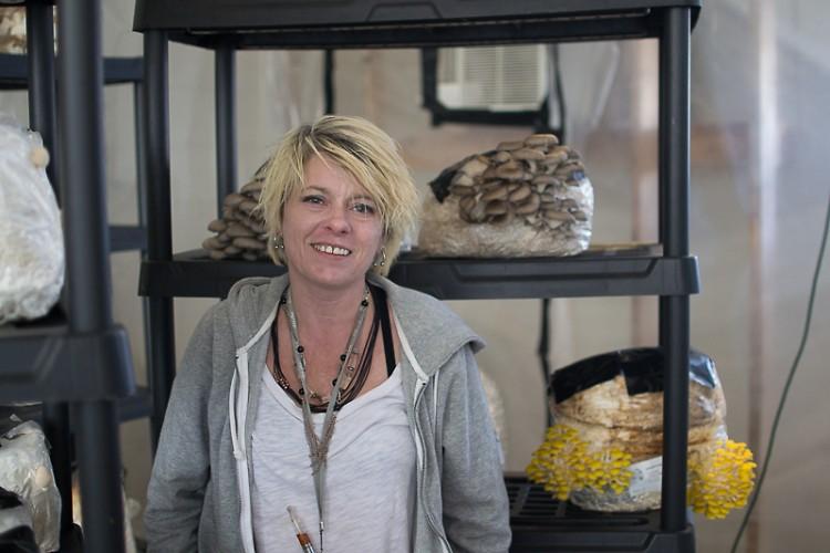 Mary Ann Faulkner, owner of The Urban Mushroom