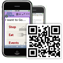 Downtown GR's new mobile site