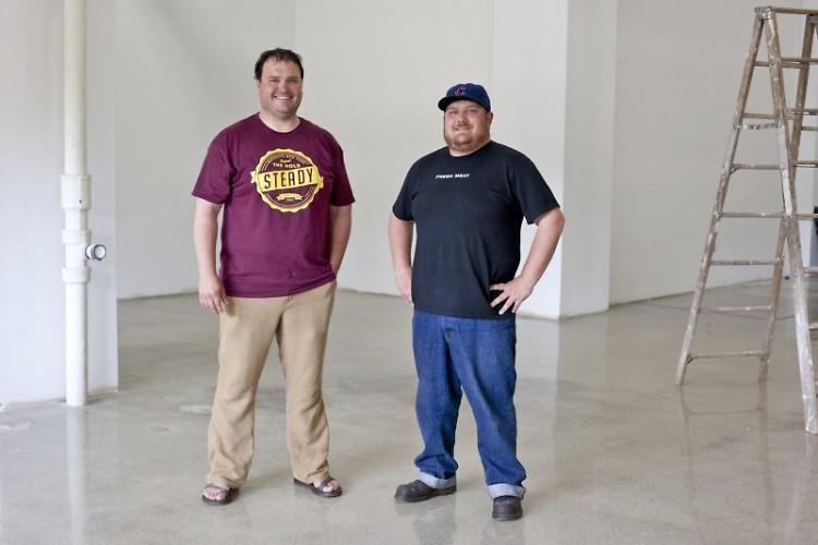 Aiden and Evan Brady