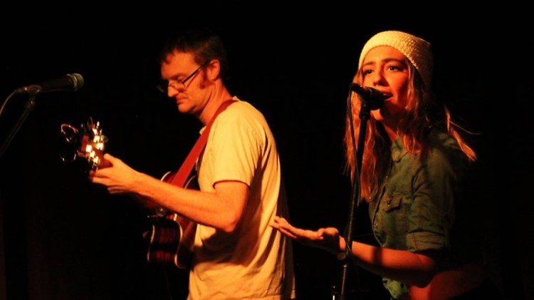 Emma Loo and Sam perform at Tip Top Bar