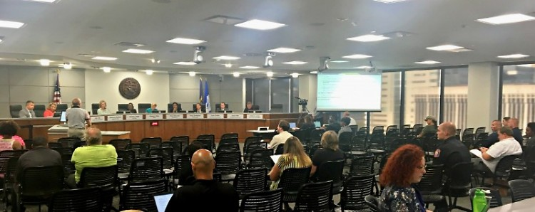 Grand Rapids City Commission meeting on Tuesday, July 25, 2017.