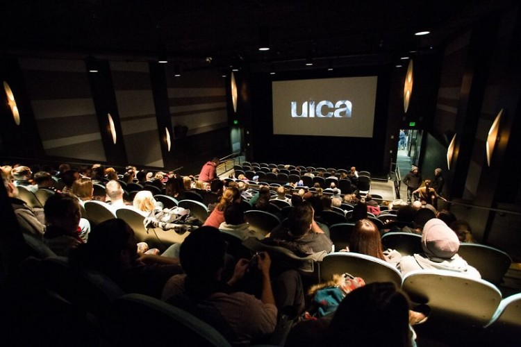 Movie theater at the UICA