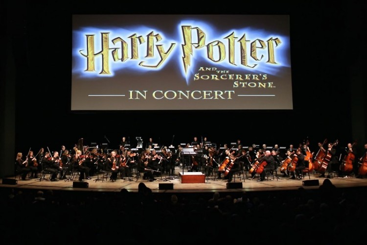 """Grand Rapids Symphony presented """"Harry Potter and the Sorcerer's Stone"""" in DeVos Performance Hall on Jan. 27-28, 2017."""